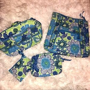 Vera Bradley hipster, lunchbox, coin bag, cosmetic